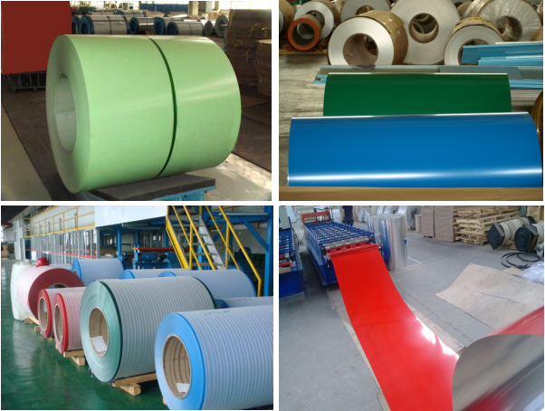3003 H24 alloy type Industrial using Aluminum roofing coil colors