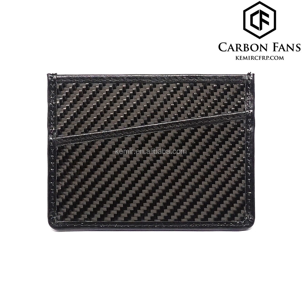 Rfid Block Real Carbon Fiber Credit Card Bag For Business Cards ...