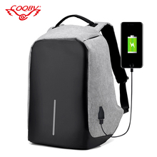 Best waterproof anti theft laptop backpack bag with USB line
