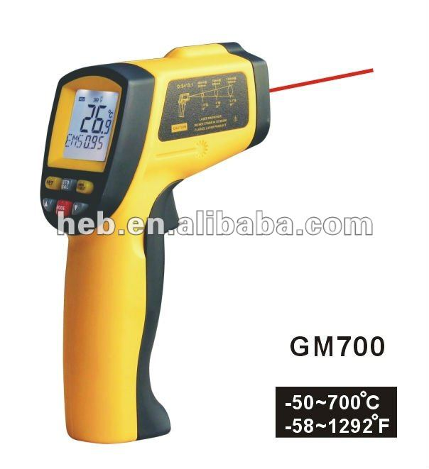 GM700 digital Infrared Thermometer