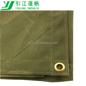 700gsm waxed poly cotton canvas fabric
