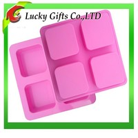 Eco-friendly Bakery, hotel, restaurant, bar and family kitchen silicone soap mold