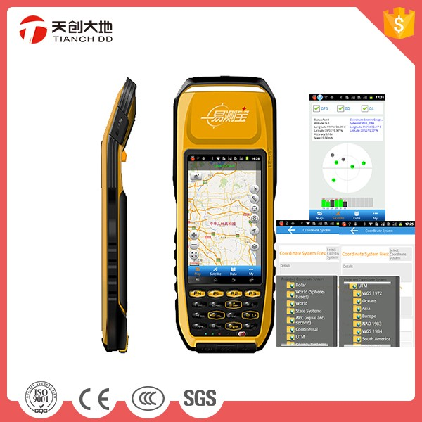 Supports 0-1cm DGNSS Accuracy GPS RTK Receiver Dual Frequency
