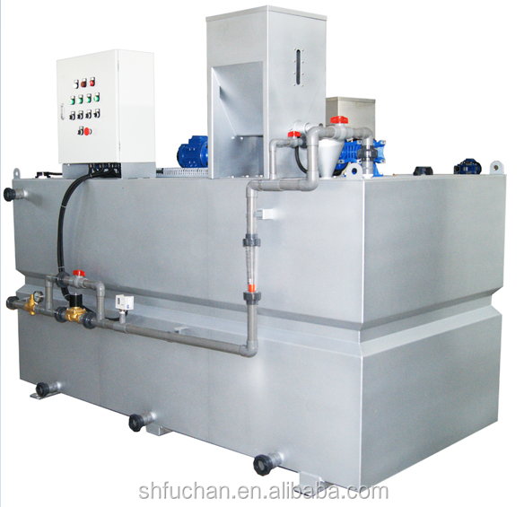 polymer dosing system chemical dosing unit for industry sewage treatment plant