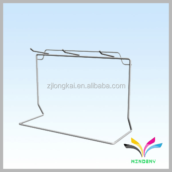 High Quality Factory Supply Customize metal calendar free standing wire display racks