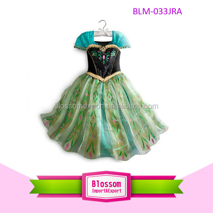 2014 Very popular frozen elsa dress wholesale