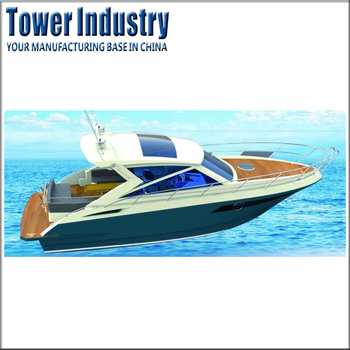 10.32m High Speed Outboard Power Yacht Luxury Boat for Sale