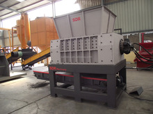 Primay Double shaft shredder, car body crusher