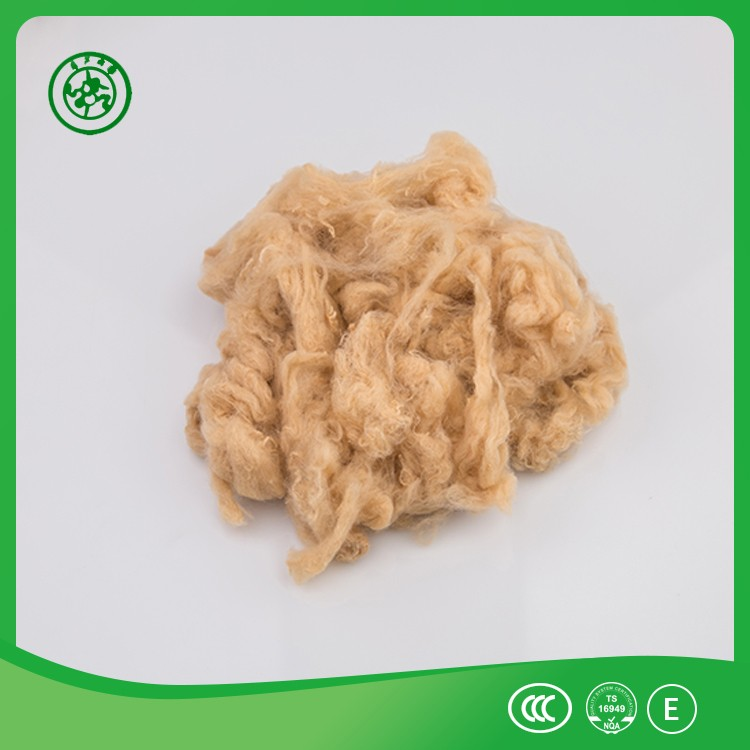 PET flakes recycled polyester staple fiber 3d 6d 7d 15d use for cushion stuffing