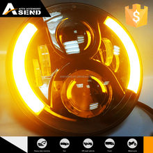 2ND Generation 7'' Round High/Low Beam Led Headlight with DRL