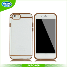 factory custom design simply beatuiful clear color phone for iphone 6