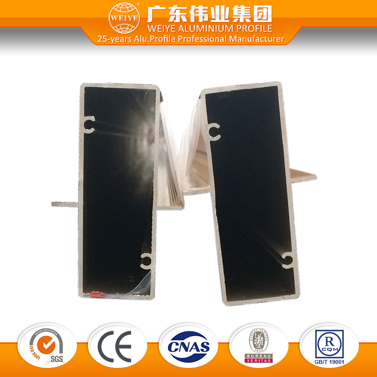 6063 T3-T8 0.8-1.4mm <strong>aluminum</strong> extruded for Sliding Patio Doors with powder-coated finish
