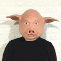 Halloween Costume Party Animal mask Pig head mask  latex Head Mask