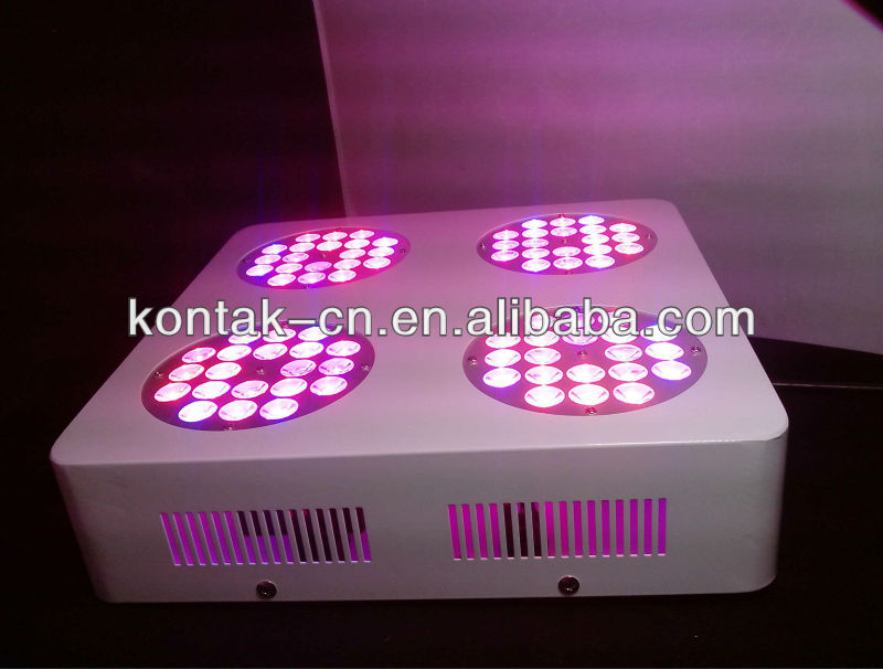 200W 6 Bands 80pcs 3W LED Grow Light x lens