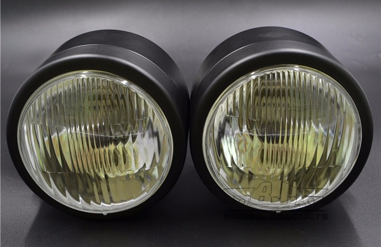 BJ-HL-029 Twin Dominator Sport motorcycle Headlight Dual Streetfighter Cafe Racer