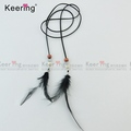 Wholesale Feather Silk Charming Pendant Cotton Tassels Earrings for DIY Jewelry Making Accessories WTR-024
