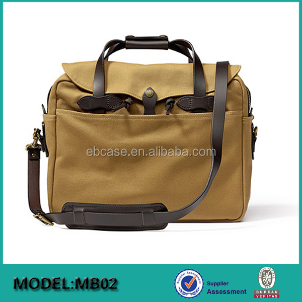 Canvas Travel Computer/Laptop Bag Shoulder Handbag Messenger School Bag