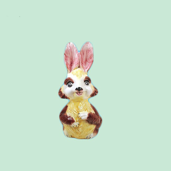 Fashion type Ceramic Bank Easter Bunny Rabbit Figurines