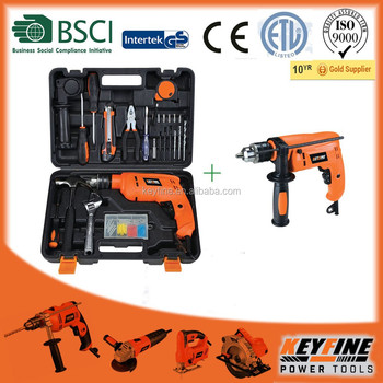 combination tool impact drill kits for House hold tools