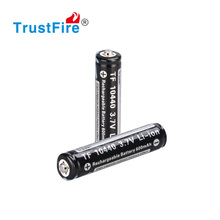 Trustfire 10440 3.7v Protected Li-ion Rechargeable Battery with Nipple