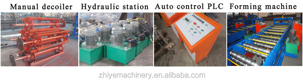 High Quality Corrugated Roofing Sheet Forming Machine / High Rib Roof Sheet Making Machine