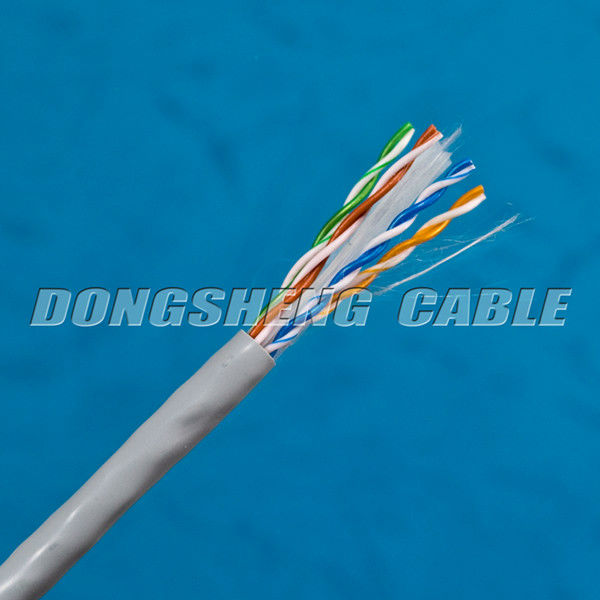 23AWG 0.57mm Cat6 Color Code For Lan Cable