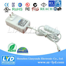 for FIBER OPTIC LIGHTS adapter 9V 1A adaptor power supply china manufacturer with UL 1310 certification