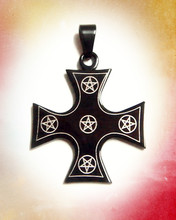 Wholesale stainless steel celtic cross pendant