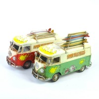Volkswagen Combi Kombi Van Flip Photo Frame & Money Box