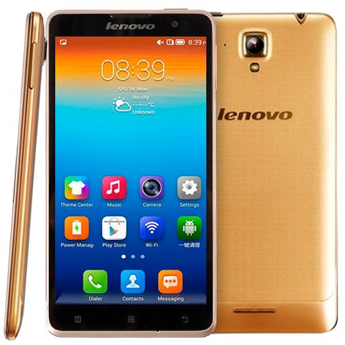 Original Lenovo S898T+ 8GB 5.3 inch Android 4.2.2 IPS Screen Smart Phone, MT6589T 4 Core 1.5GHz, RAM: 1GB, GSM Network, Dual SI