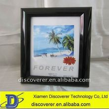Different types plastic photo frame manufacturer