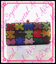 Aidocrystal handmade clutch handbags iridescent clutch bag ladies beaded bags and wallets