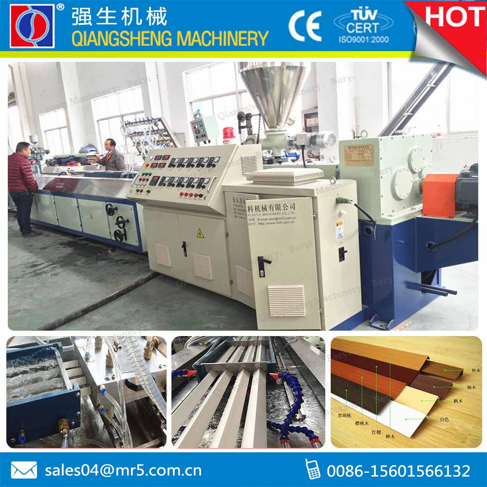 supply furniture plastic pvc corner protector machine