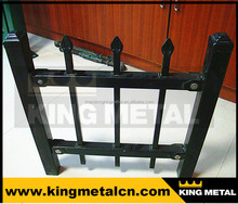 steel spike tubular fencing