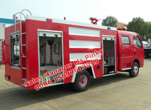 66units Dongfeng DFAC Fire Fighting Water Tank Truck 800Gallon Fire Trucks Exported to Myanmar