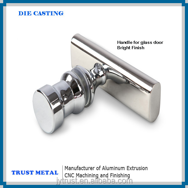 Espejo pulido acabado superficial anodizado de aluminio for Piezas ducha