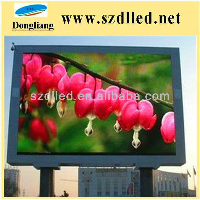 led display screen!! p12 dip outdoor full color p12 led advertising display