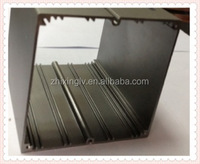Square Electric Transformer PCB Aluminum Enclosure 90.5*90.5-150 Length big aluminum Box/Aluminum Extrusion Box
