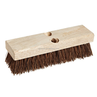 Deck Scrub Floor Brush with Wood Block from china provider