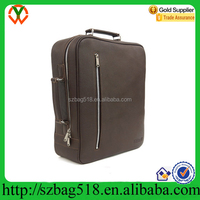 Men's Genuine Leather Multi Backpack Style Laptop Bags