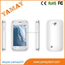 low price china mobile phone 3.5 inch mtk6572 dual core 3g/2g dual sim 2 camera wifi bt gps fm no brand smart phone
