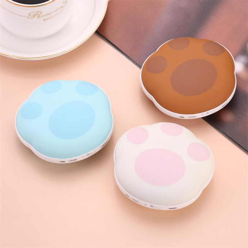 High quality cute popular rechargeable pocket hand warmer,hand heater with power bank