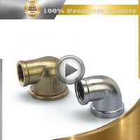 brass air brake hose fitting