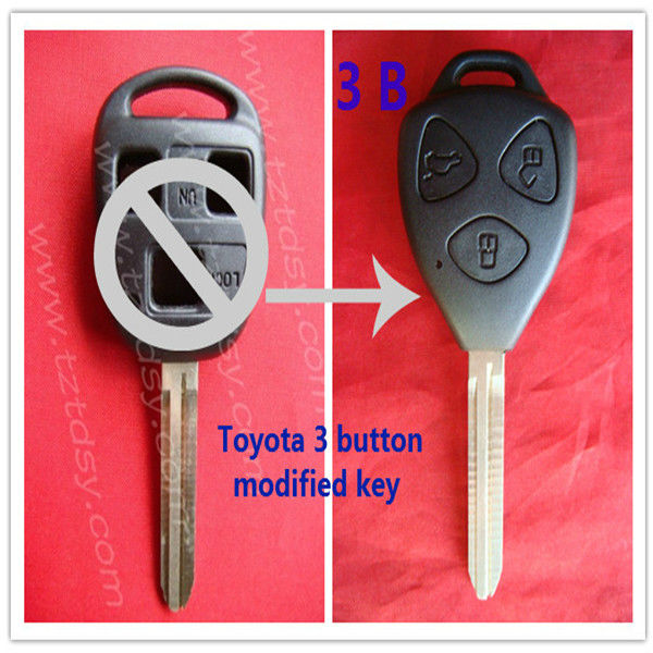 Tongda fari price refit key for toyota yaris remote key (TOY43)