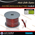 Quality 8GA/8AWG Power Battery Ground Cable wire for Car Subwoofer