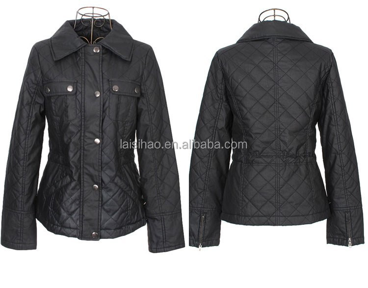 Outdoor nice design 100% polyester lady jackets