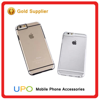 [UPO] Wholesale Crystal Clear Hard PC Soft TPU Acrylic Material Back Cover Case for iphone 5,6,6plus