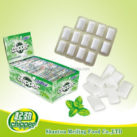 halal chewing gum in blister pack