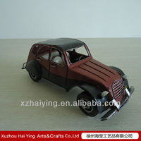 Iron antique Army wecker cars