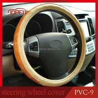 Eco friendly PVC car steering wheel cover silicone car steering wheel cover, wholesale protective steering OEM for clients